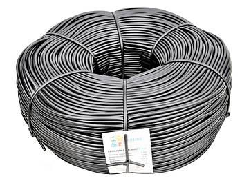 Кембрик - агротрубка чорний в бухті Аграріо (Agrario) 5 мм, 5 кг