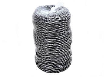 Кембрик - агротрубка чорний в сітці Аграріо (Agrario) 6 мм, 1 кг