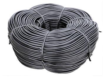 Кембрик - агротрубка чорний в бухті Аграріо (Agrario) 6 мм, 5 кг