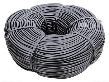 Кембрик - агротрубка чорний в бухті Аграріо (Agrario) 7 мм, 5 кг