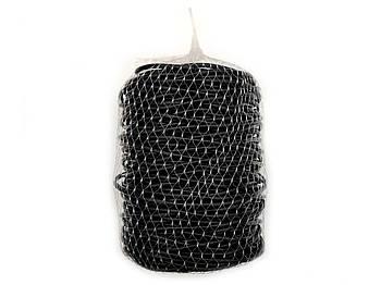 Кембрик-агрошнурок Cordioli Суперекстра чорний 4 мм для підв'язування 1 кг