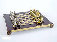 "Шахматы подарочные Manopoulos ""Греко-римские"" S3RED"