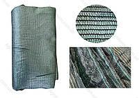 Сетка затеняющая, теневка 3х9м (45%) зеленого (пакет), фото 1