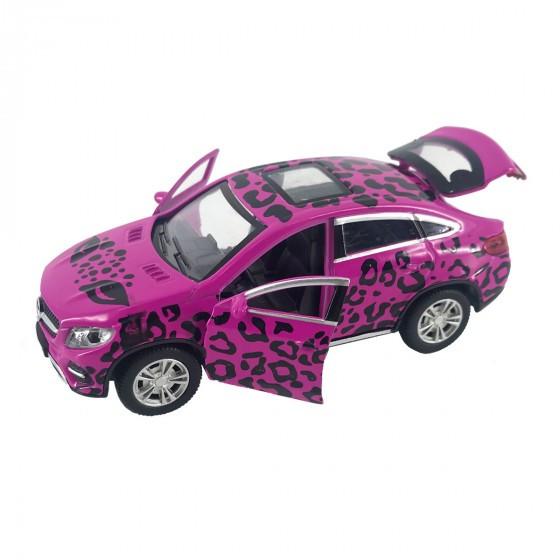 Автомодель GLAMCAR - MERCEDES-BENZ GLE COUPE (розовый) Technopark GLECOUPE-12GRL-PIN