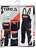 Рабочий комбинезон YATO YT-80916 размер XL, фото 3