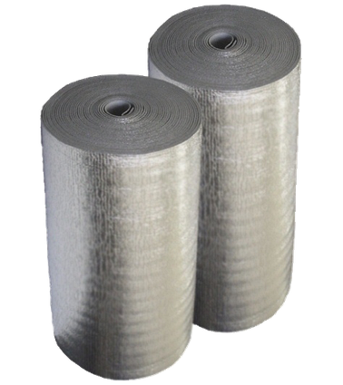 Полотно метализированное двухстороннее толщ.3 мм (1м*50м)