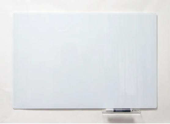 Безрамная стеклянная магнитная маркерная доска Tetris. Белая офисная доска на стену для рисования маркером
