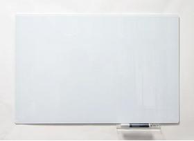 Безрамна скляна магнітна маркерна дошка Tetris. Білий офісний дошка на стіну для малювання маркером