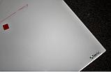 Безрамная стеклянная магнитная маркерная доска Tetris. Белая офисная доска на стену для рисования маркером, фото 8