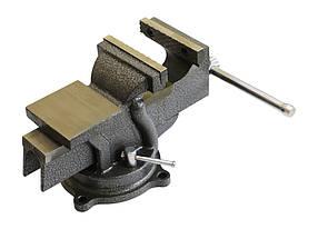 Тиски поворотные Technics усиленные с наковальней 100 мм (42-860)