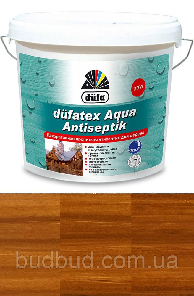 Декоративне просочення-антисептик для дерева Dufatex тік 0,75 л