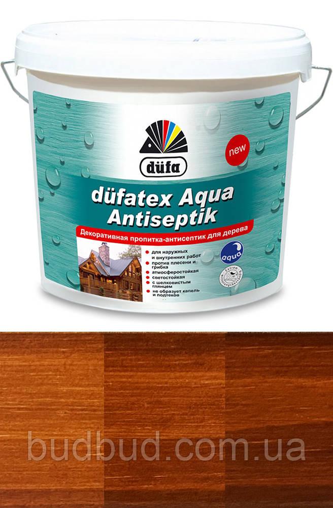 Декоративная пропитка-антисептик для дерева Dufatex махагон 2,5 л