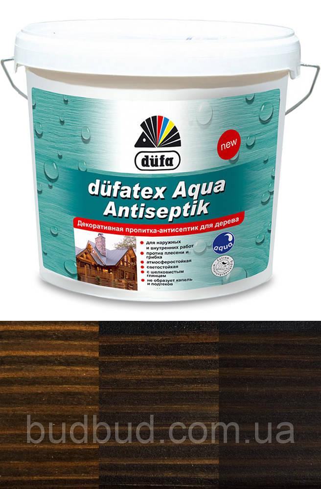 Декоративная пропитка-антисептик для дерева Dufatex венге 2,5 л