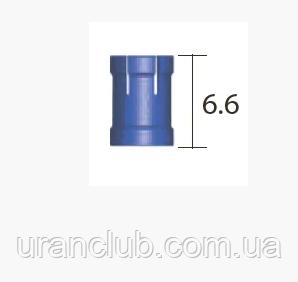 Обмежувач Lindemann діам. = 4.45 мм, глибина = 12мм, довжина = 6.6 мм, № XLDST12