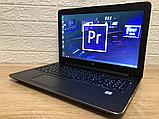 Відмінний Ігровий Ноутбук HP Zbook 15 G3+CORE I7+NVIDIA+16 +512, фото 3