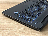 Відмінний Ігровий Ноутбук HP Zbook 15 G3+CORE I7+NVIDIA+16 +512, фото 8