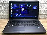 Відмінний Ігровий Ноутбук HP Zbook 15 G3+CORE I7+NVIDIA+16 +512, фото 2
