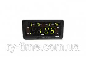 *Електронний будильник від мережі CX-2158 (29505)