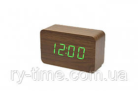 *Електронний будильник від мережі і батарейок VST-863-4 (33971)