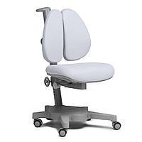 Ортопедическое кресло детское подростковое 4-18+ лет Brassica Grey ТМ Cubby Серый