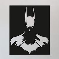 Объемная картина из дерева DecArt Batman