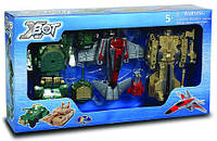 Набор игровой X-bot Робот-Трансформер Танк Самолет Танк g82040R