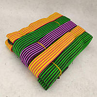 Гумка кріпильна для багажу з гачками 1.5 м, 10 шт/упак джгут гумовий
