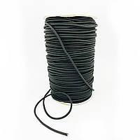 Гумка капелюшна, швейна 3 мм-100 м багатодротова в обплетенні Туреччина
