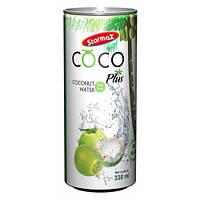 Сиамский натуральный напиток с мякотью кокоса  Starmax Cocoplus 330 мл