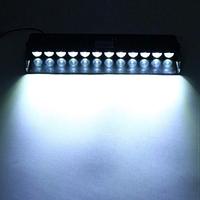 Стробоскоп мигалки для авто спец сигналы на лобовое стекло 12 LED ДХО Лампы Белые