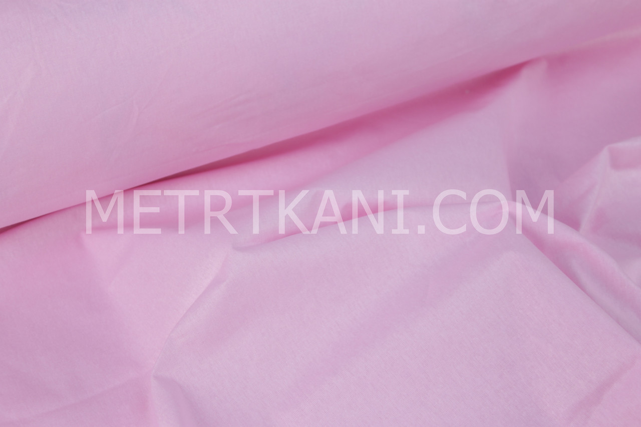 Лоскуток. Однотонная польская бязь розового цвета , 98*160 см