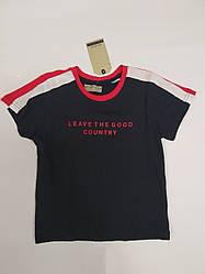 Стильная детская футболка на мальчика на рост 104 см-122 см