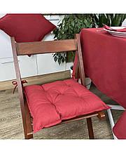 Подушка на стілець табурет бавовна