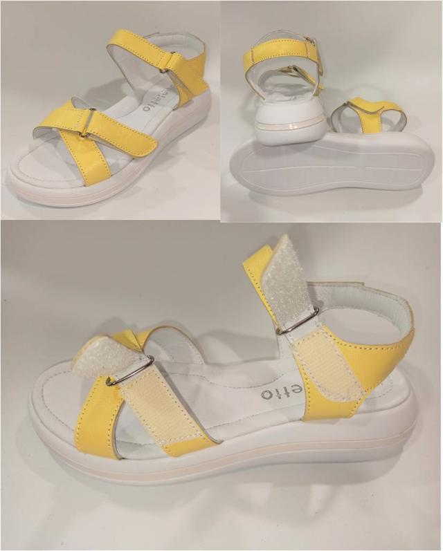 Жіночі жовті босоніжки, Arcoboletto фото
