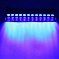 Стробоскоп мигалки для авто спец сигналы на лобовое стекло 12 LED ДХО Лампы Синий