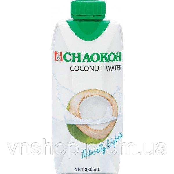 Сладкий кокосовый сок с мякотью от Chaokoh 330 мл