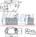Масляный радиатор BMW  5-series 00-