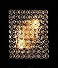 Хрустальное бра на 2 лампы 3-E1575/2W BCH черн жемч, фото 2