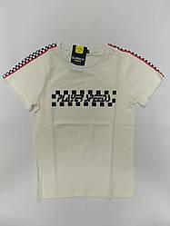 Стильная детская футболка на мальчика подростка на рост 164 см
