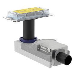 CLEANLINE набор для дренажных каналов, конструкции пола высотой от 90 мм, L30см