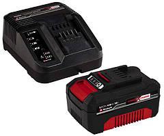 Набор зарядной аккумуляторный 18В 4.0Ач Einhell X-Change 4512042