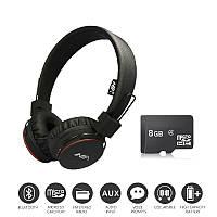 Накладные Беспроводные Наушники стерео NIA X2 МР3 FM Bluetooth с МР3 и FM для телефона, Наушники и Гарнитуры