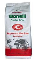 Кофе Bonelli Espresso Medium Qualita Oro в зернах 1 кг
