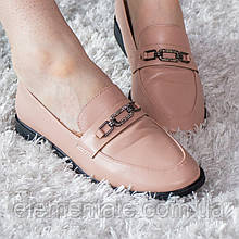 Жіночі туфлі Fashion Diva 1932 41 розмір 26 см Бежевий