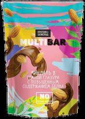 Протеиновое драже MULTIBAR Миндаль в Шоколаде (100 грамм)