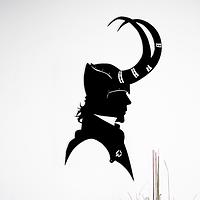 Объемная картина из дерева DecArt Loki