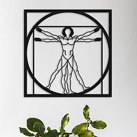 Объемная картина из дерева DecArt Da Vinchi
