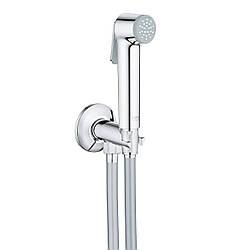 Гигиенический душ TEMPESTA-F Trigger Spray 30 душевой набор с угловым вентилем, 1 вид струи, хром