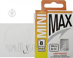 Гачки з повідками MiniMax SW-001 Sode #8/0.14 BLN 10шт.