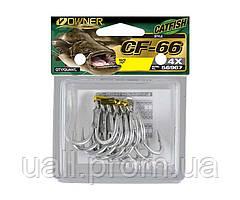 Гачки Трійні Owner 56967(CF-66) Catfish №1/0 6шт. (Сомовий)